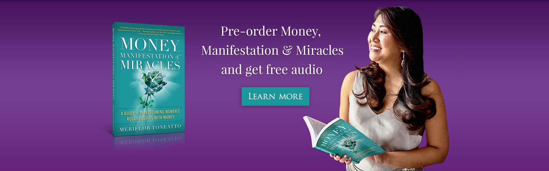 book preorder banner Meriflor